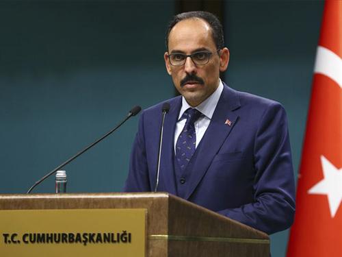 """Cumhurbaşkanlığı Sözcüsü Kalın: """"Fırat'ın doğusunda oluşturulacak güvenli bölge Türkiye'nin kontrolünde olmalıdır"""""""