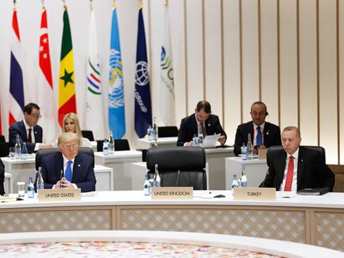 Cumhurbaşkanı Erdoğan, G-20 Liderler Zirvesi oturumlarına katıldı
