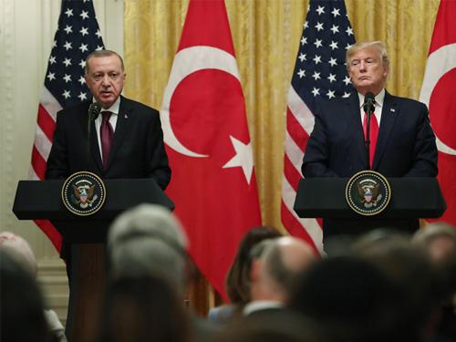 """""""Türk-Amerikan ilişkilerinin güçlü bir zeminde ilerletilmesi ve iş birliğimizin derinleştirilmesinde hemfikiriz"""""""