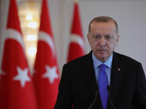 """Cumhurbaşkanı Erdoğan """"Uzay ve uydu teknolojileri alanında ülkemizi marka hâline getirmekte kararlıyız"""""""