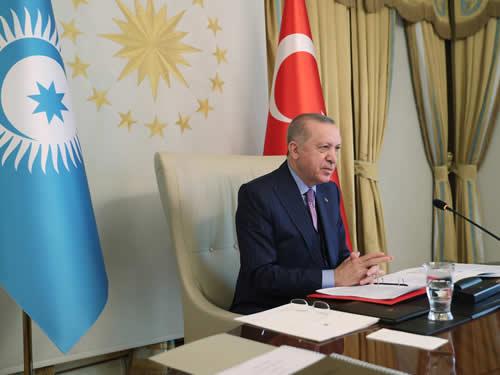 """""""Dünyamızın karşı karşıya kaldığı değişimler, Türk Konseyi gibi iş birliği yapılarının önemini daha da artırıyor"""""""
